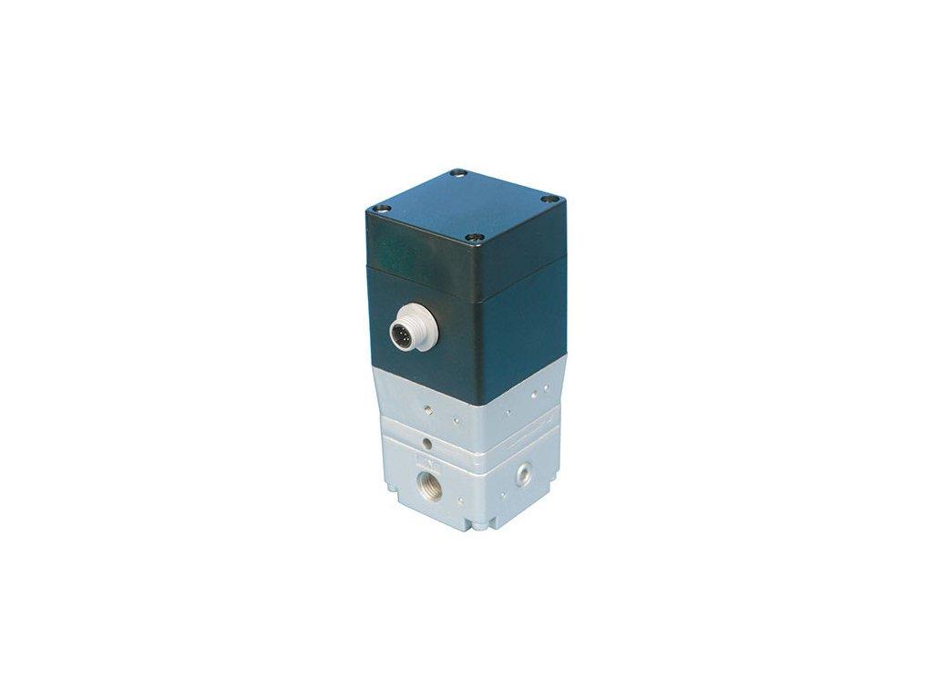 Proporcionální regulátor 1/4 - 0-10V - 0-1 bar