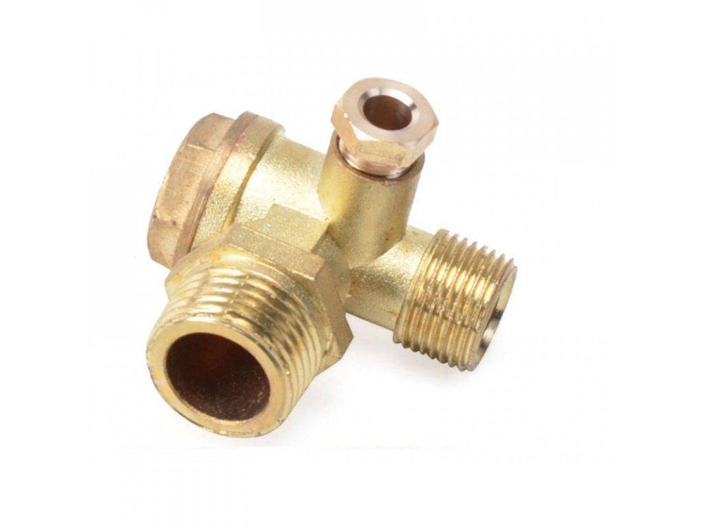 zpetny ventil kompresor vnejsi