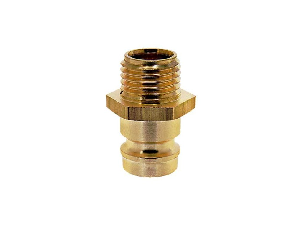 Vsuvka s vnějším závitem M5x0,5 bez ventilu