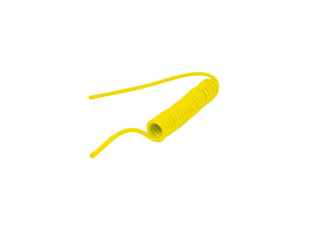 Spirálová hadice PUBY bez koncovek 6/4 mm - délka 1,5 m