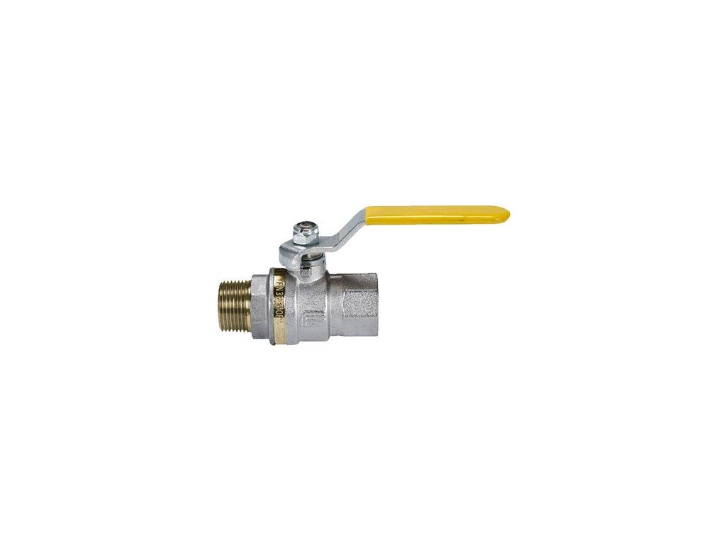 """Kulový kohout na plyn s vnitřními závity - G1 1/2"""""""