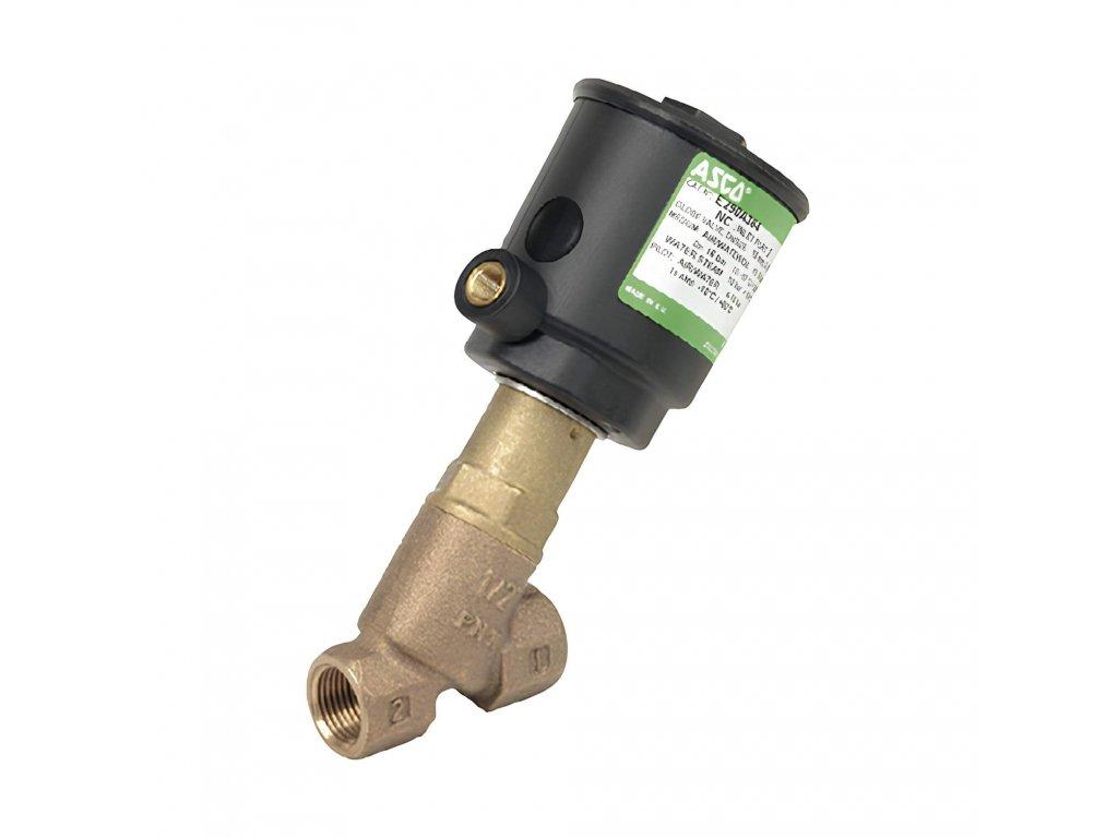 Sedlové ventily E290 NC 12A bronz