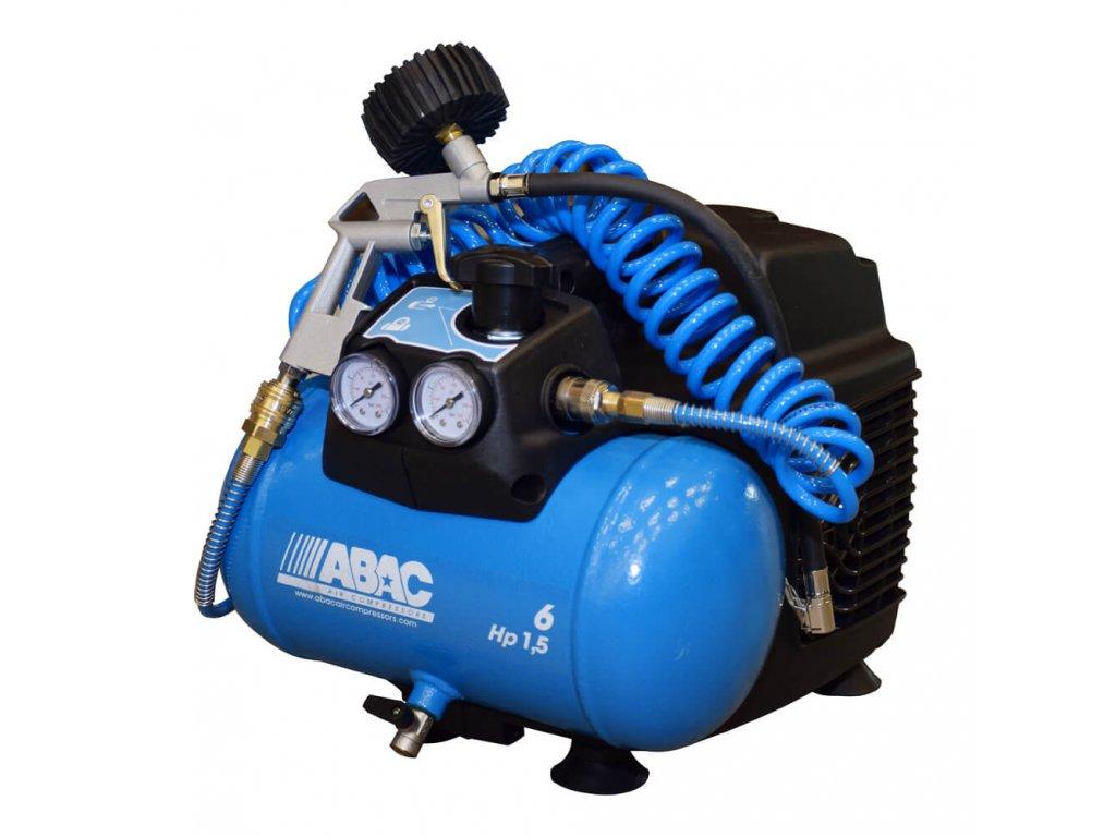 O15N 6 set pistovy kompresor abac line vzduch tlak