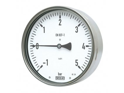 Manometr robustní zadní 0/0,6 bar - 100 - 1/2