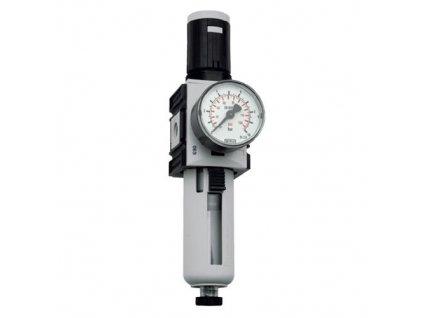 "Regulátor tlaku s filtrem 1/4"", 0,1 - 2 bar, 2 000l/min"
