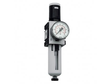 "Regulátor tlaku s filtrem 1/4"", 0,2 - 4 bar, 2 000l/min"