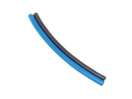 Dvojitá hadička z polyuretanu modrá-černá 10/8 mm