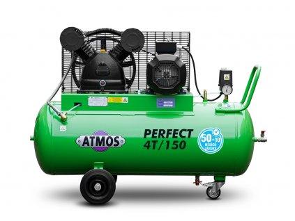 Pístový kompresor Perfect - 4T/150  + prodloužená záruka + Olej Atmos zdarma
