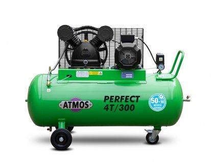 Pístový kompresor Perfect - 4T/300  + prodloužená záruka + Olej Atmos zdarma