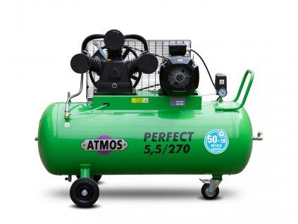 Pístový kompresor Perfect - 5,5/270  + prodloužená záruka + Olej Atmos zdarma