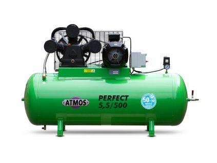 Pístový kompresor Perfect - 5,5/500  + prodloužená záruka + Olej Atmos zdarma