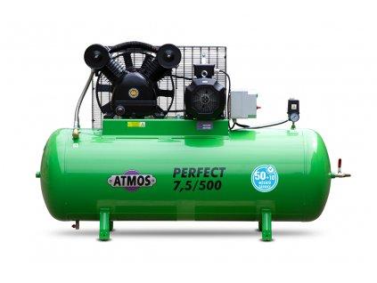 Pístový kompresor Perfect - 7,5/500  + prodloužená záruka + Olej Atmos zdarma
