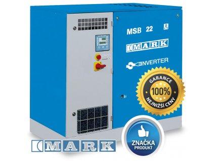 Šroubový kompresor MSB-IVR - MSB2-22/10IVR