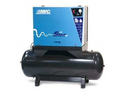 Tichý pístový kompresor na vzdušníku - B70-7,5-500FTZ