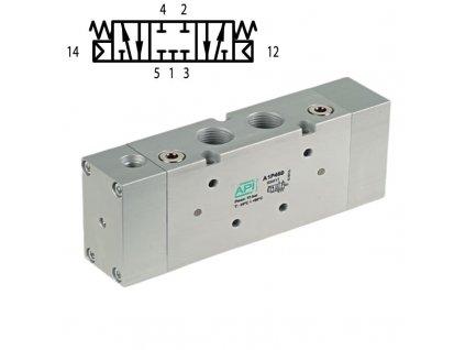 A1P470 pneumaticky ventil vzduch automatizace min