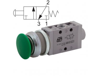 a1ma130fv rucni ventil vzduch automatizace