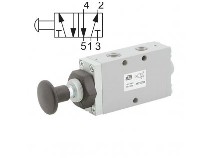 Ručně ovládaný ventil A1MA251TT