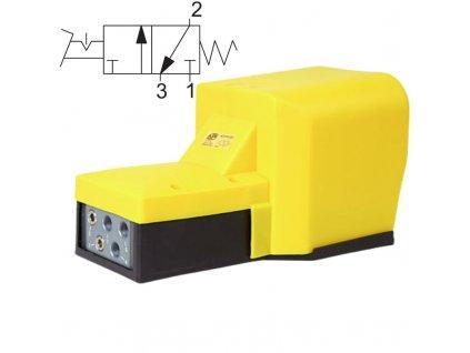 avp232 nozni ventil vzduch pedal automatizace