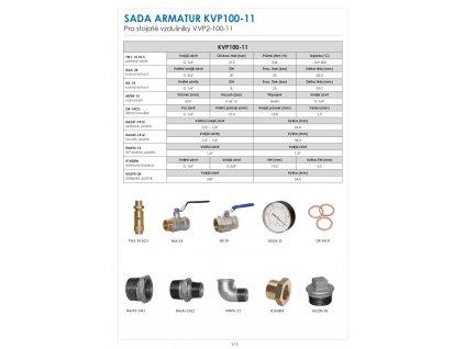 Sada pro tlakové nádoby VVS-200