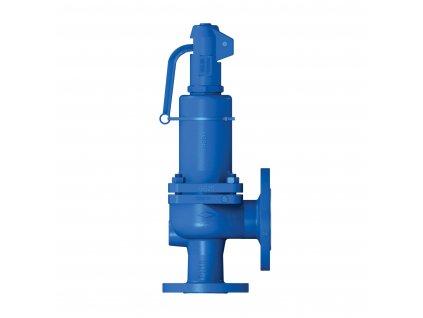 Pojistný ventil přírubový 6121 - DN20 - 0,2-16 bar