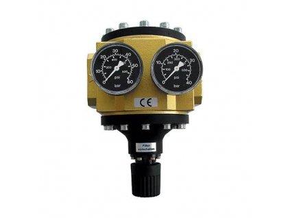 """Regulátor tlaku 2"""", 25 000 l/min, 0,5-16 bar"""