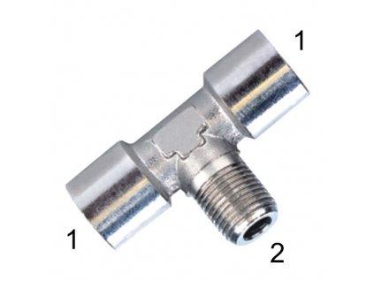 """T-šroubení s vnitřními závity G1/2"""" a vnějším R1/2"""""""