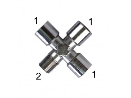 """X-šroubení s vnitřními závity G3/8"""" a vnějším závitem R3/8"""""""