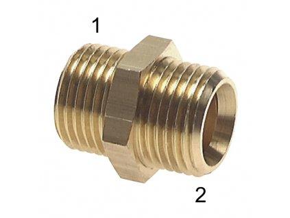 Šroubení s vnějšími závity M14x1,5-M14x1,5