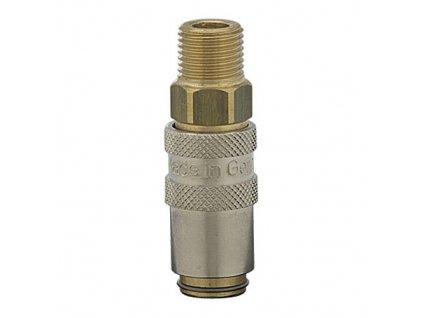 Rychlospojka s vnějším závitem M5 x 0,5 s ventilem