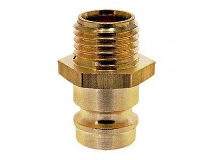 Vsuvka s vnějším závitem M5 x 0,5 bez ventilu