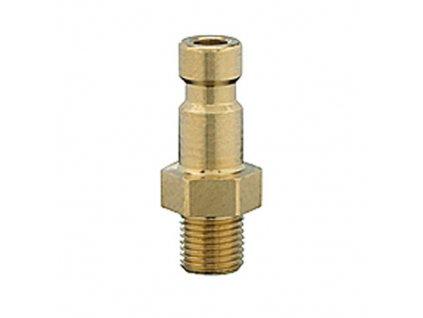 Vsuvka s vnějším závitem M5 x 0,5 s ventilem