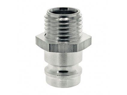 """Vsuvka s přímým vnějším závitem G1/4"""" s ventilem"""