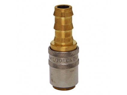 Rychlospojka s trnem pro nástrčné hadice 13mm s ventilem