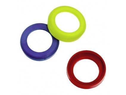 Kroužky pro označení média 13mm červené