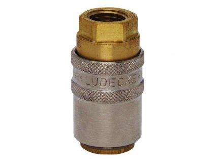 """Rychlospojka s přímým vnitřním závitem G1/2"""" s ventilem"""