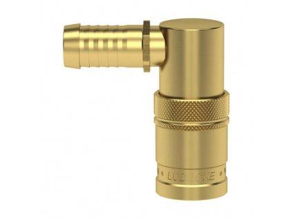 rychlospojka s 90 trnem pro standardni hadici 9mm s ventilem 4