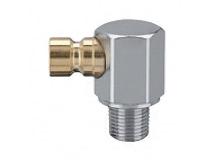 Vsuvka s 90° vnějším závitem M14x1,5 bez ventilu