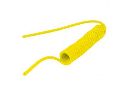 Spirálová hadice PUBY bez koncovek 4/2,5 mm - délka 1 m