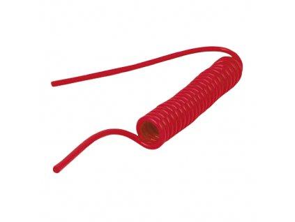 Spirálová hadice PUBR bez koncovek 6/4 mm - délka 1,5 m