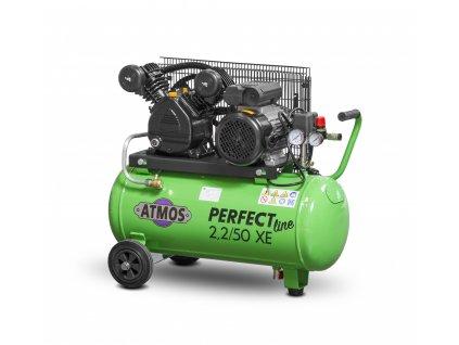 Pístový kompresor Perfect Line 2,2 kW - 50l XE  + prodloužená záruka + Olej Atmos zdarma