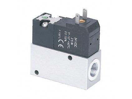 """Elektricky ovládaný ventil 2/2 NC G1/4"""""""