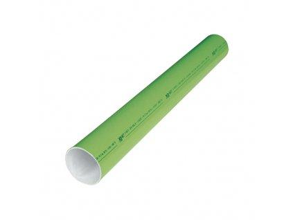 Hliníkové trubky 6m 25/22 mm zelená