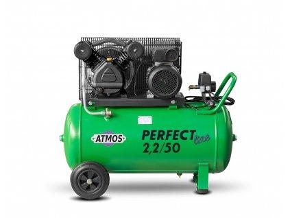 Pístový kompresor Perfect Line 2,2 kW - 50l  + prodloužená záruka + Olej Atmos zdarma
