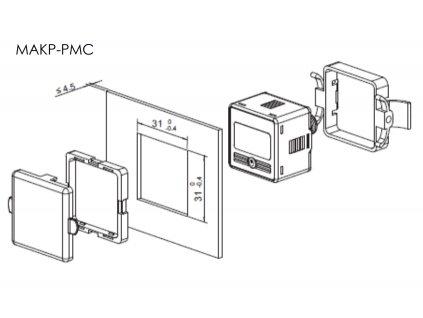 MAKP PMC manometr prislusenstvi