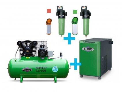 7 5 500 pistovy kompresor atmos perfect