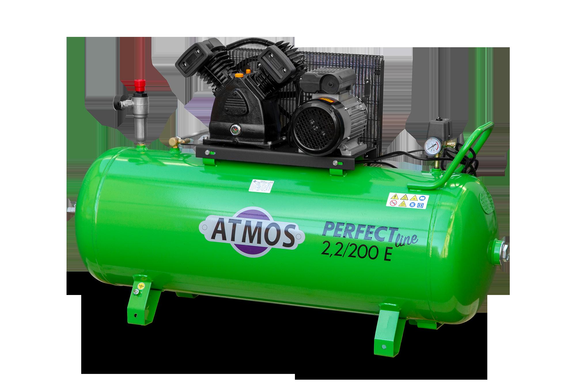 Atmos Pístový kompresor Perfect Line 2,2 kW - 200l E