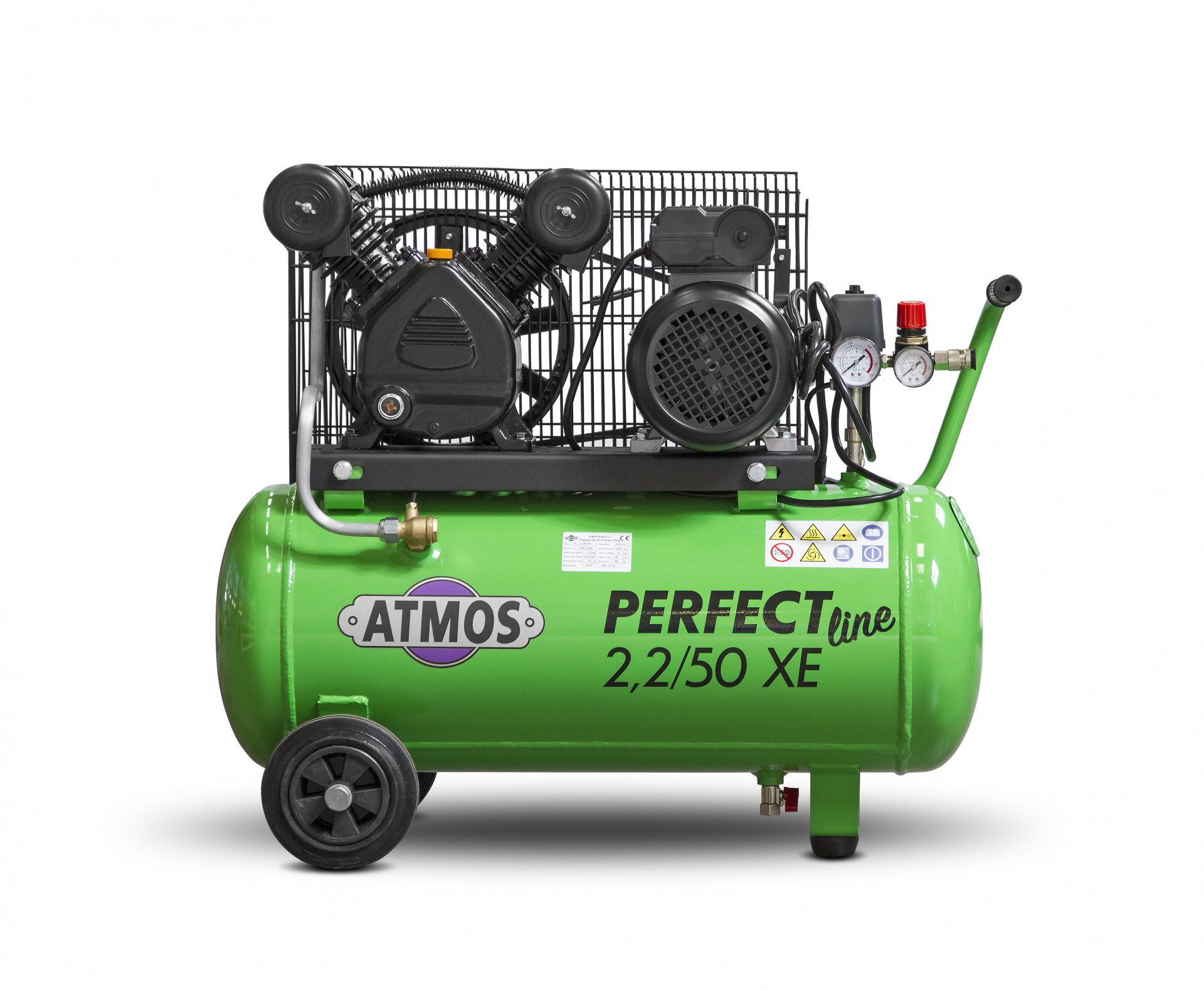 Atmos Pístový kompresor Perfect Line 2,2 kW - 50l XE