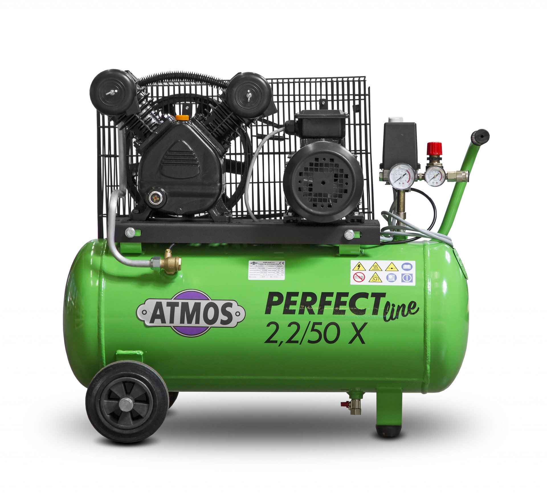 Atmos Pístový kompresor Perfect Line 2,2 kW - 50l X