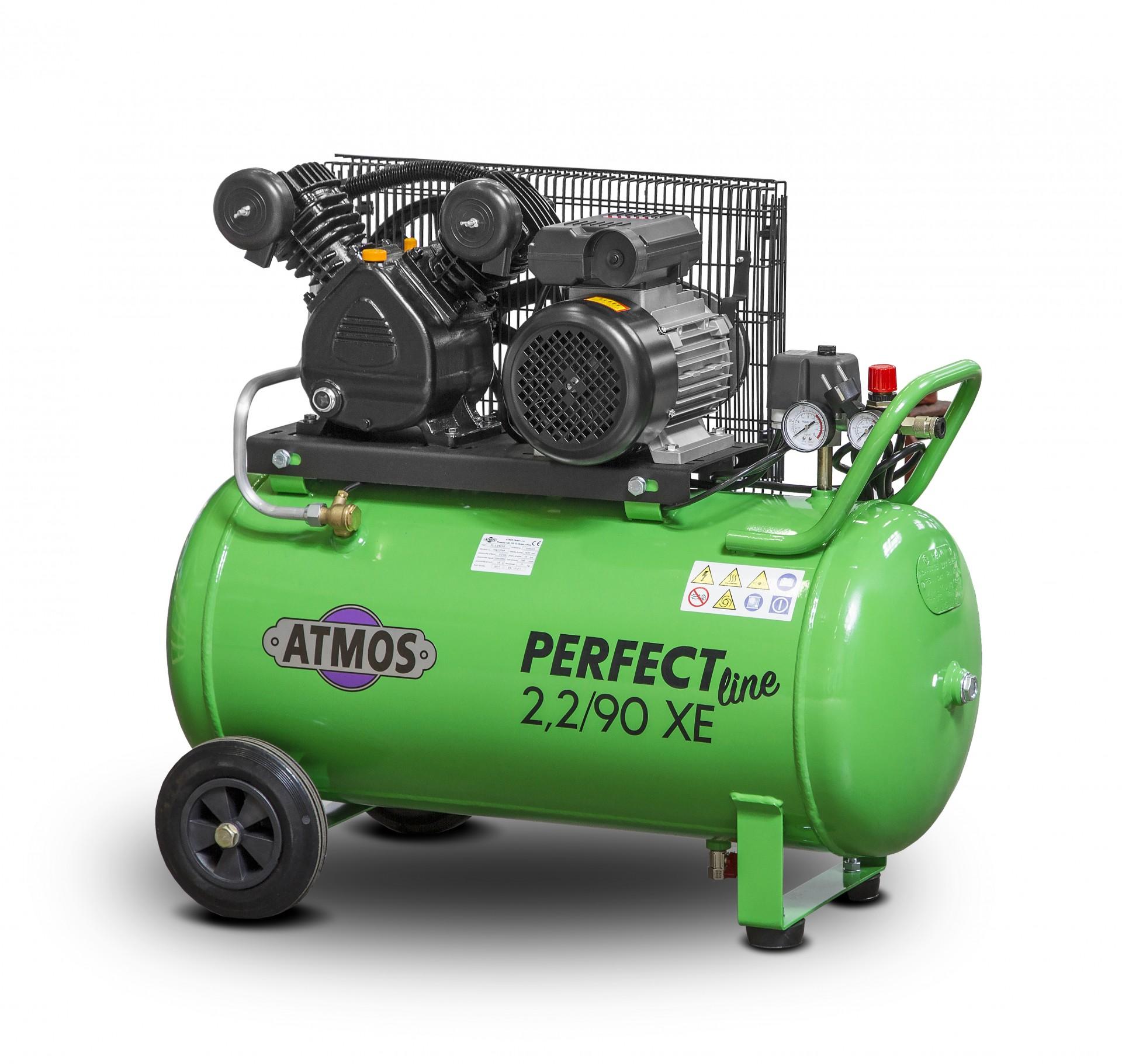 Atmos Pístový kompresor Perfect Line 2,2 kW - 90l XE