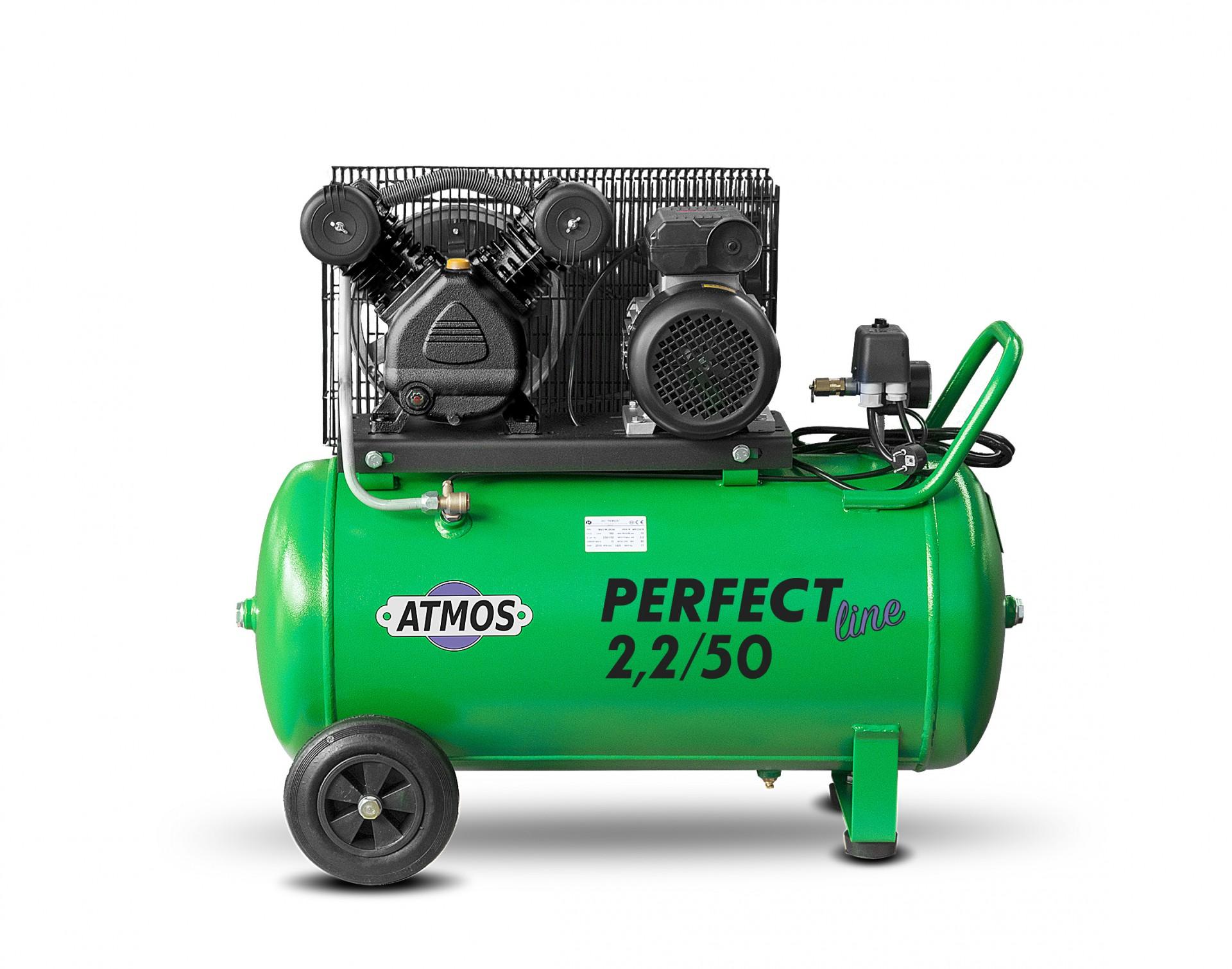 Atmos Pístový kompresor Perfect Line 2,2 kW - 50l